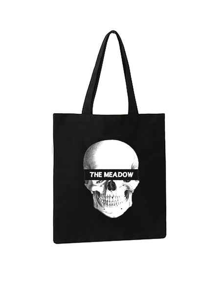 CHARITY SKULL BAG (black)