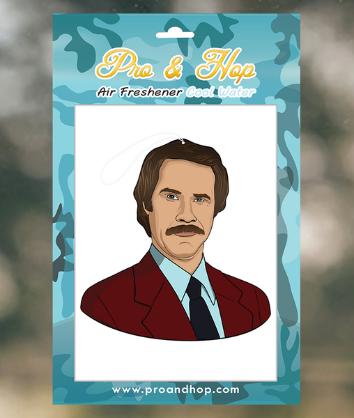 RON BURGUNDY AIR FRESHENER