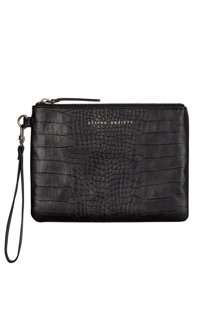 FIXATION BLACK CROC WALLET