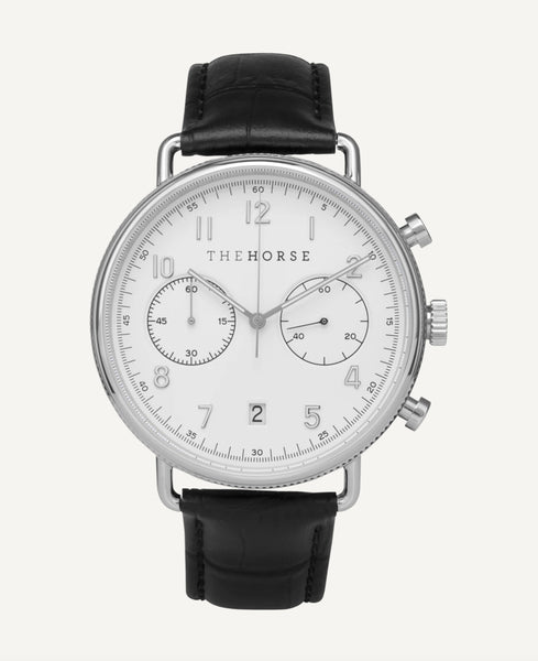 THE CHRONOGRAPH WATCH (Black/White)
