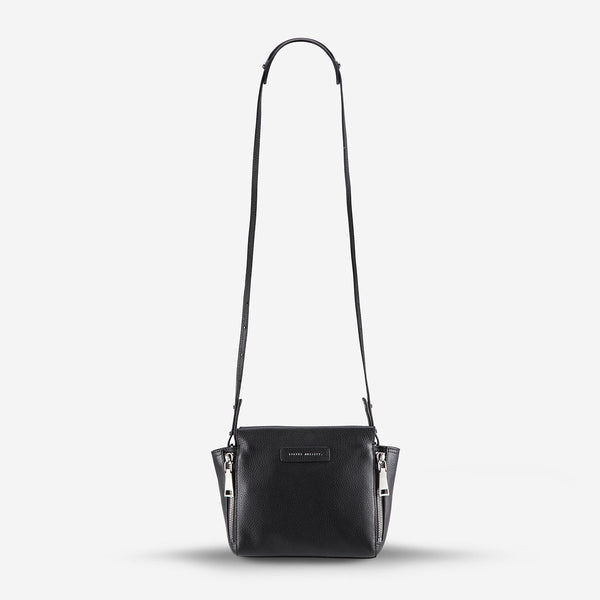 THE ASCENDANTS BAG (black pebble)