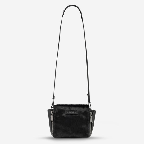 THE ASCENDANTS BAG (black/black fur)