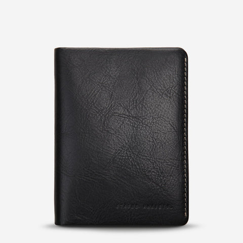 CONQUEST PASSPORT WALLET (black)
