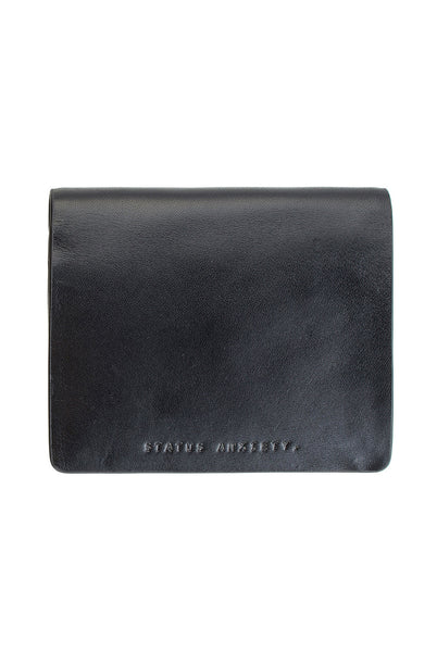 NATHANIEL BLACK WALLET - The Meadow Bendigo - status anxiety - wallets online fashion boutique - 1