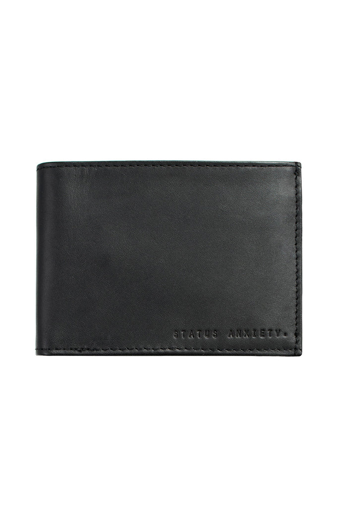 NOAH BLACK WALLET - The Meadow Bendigo - status anxiety - wallets online fashion boutique - 1