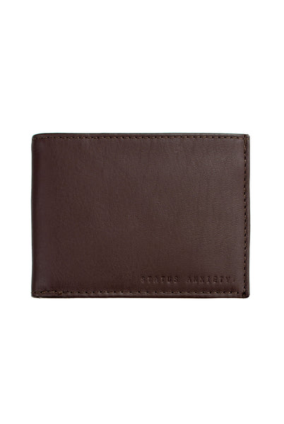 NOAH BROWN WALLET - The Meadow Bendigo - status anxiety - wallets online fashion boutique - 1