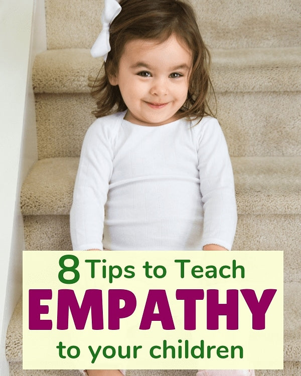 8 Tips to Teach Empathy to your children - ThinkerNation