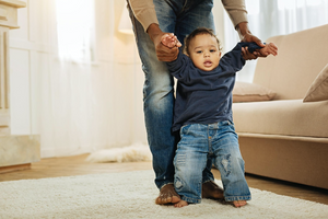 Step by Step: How to Keep Your Baby Safe When They're Learning to Walk