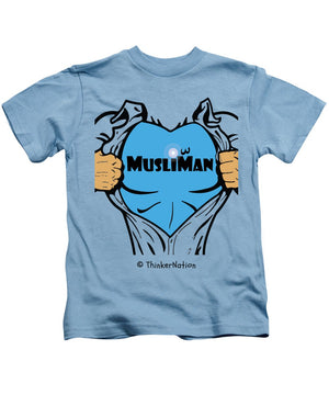 MusliMan - ThinkerThreads - Kids T-Shirt - By ThinkerNation - MuslimMan