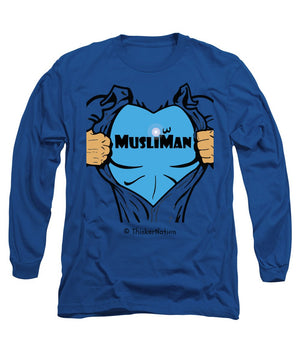 MusliMan - ThinkerThreads - Long Sleeve T-Shirt - By ThinkerNation - MuslimMan
