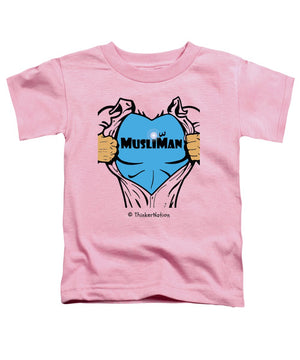 MusliMan - ThinkerThreads - Toddler T-Shirt - By ThinkerNation