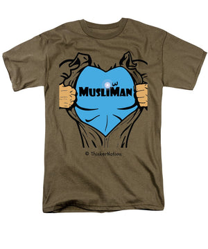 ThinkerThreads - MusliMan - Men's T-Shirt (Regular Fit) - By ThinkerNation