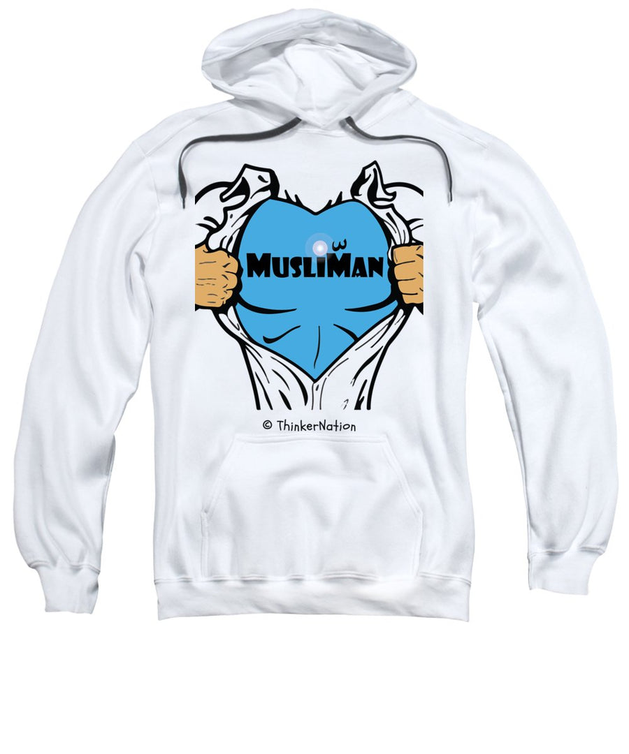 MusliMan - ThinkerThreads - Sweatshirt - By ThinkerNation - Muslim Man