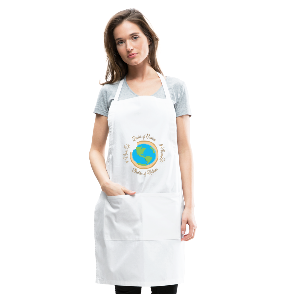 MomLife Apron - white