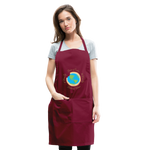Load image into Gallery viewer, MomLife Apron - burgundy