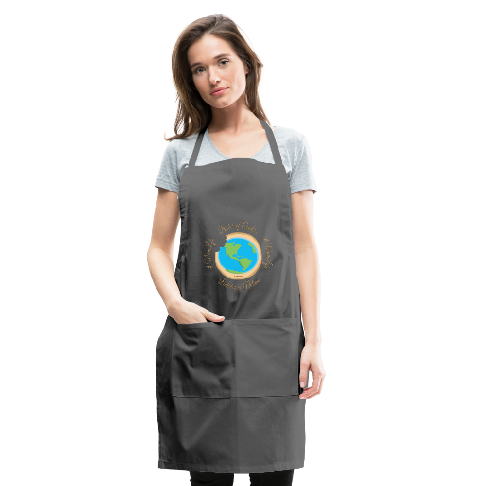 MomLife Apron - charcoal