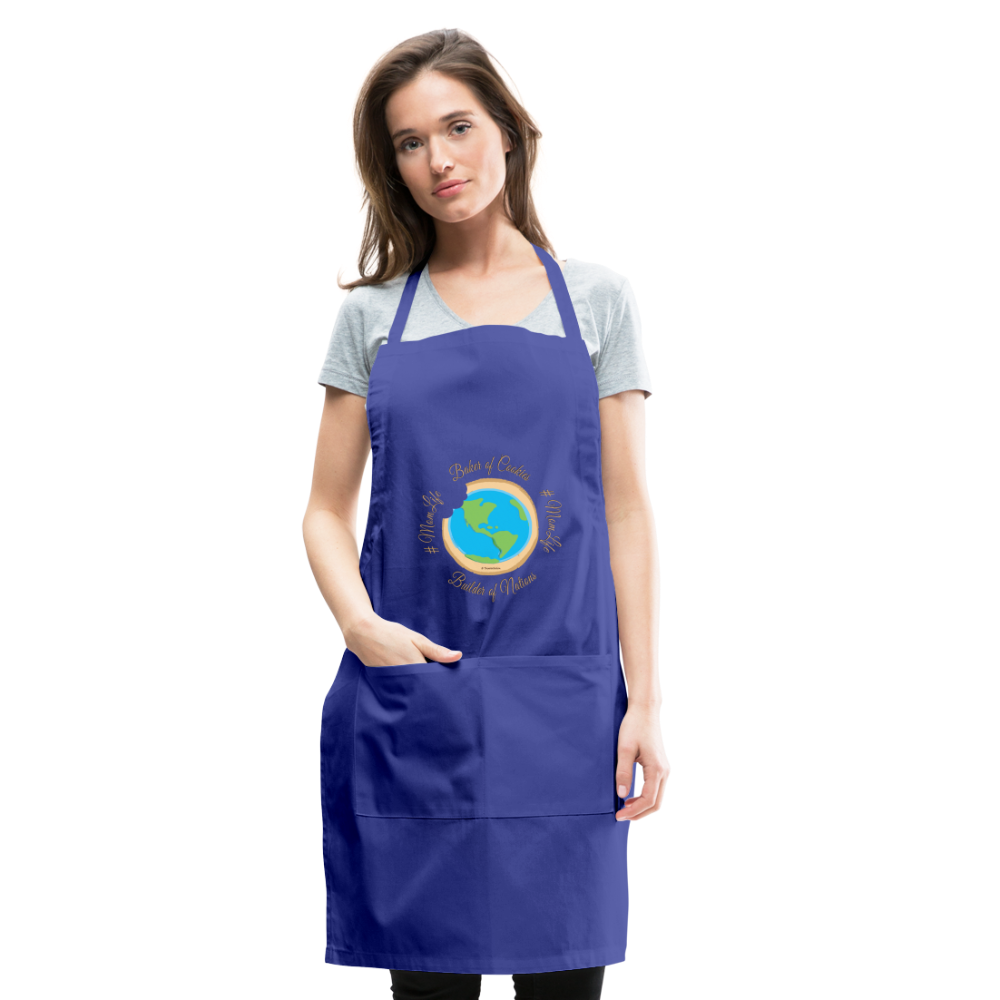 MomLife Apron - royal blue