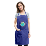 Load image into Gallery viewer, MomLife Apron - royal blue