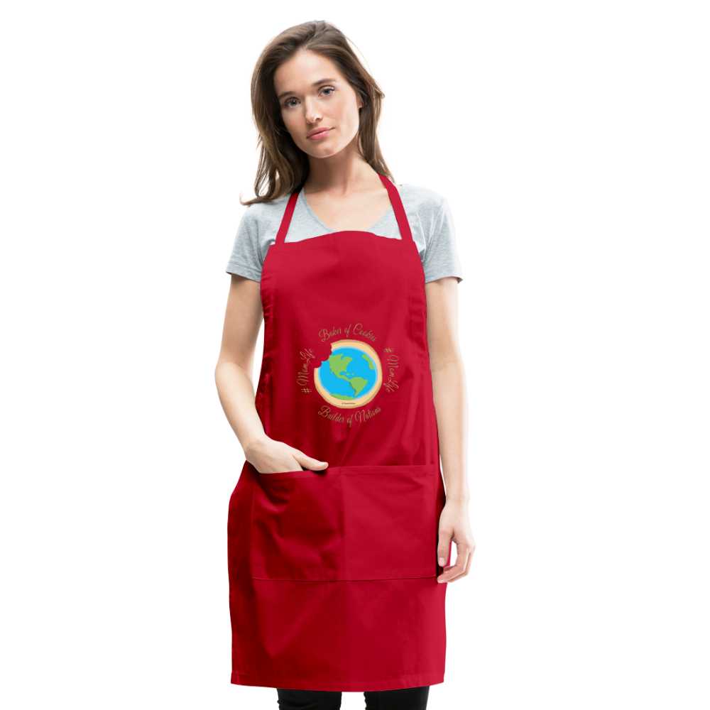 MomLife Apron - red