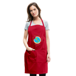 Load image into Gallery viewer, MomLife Apron - red
