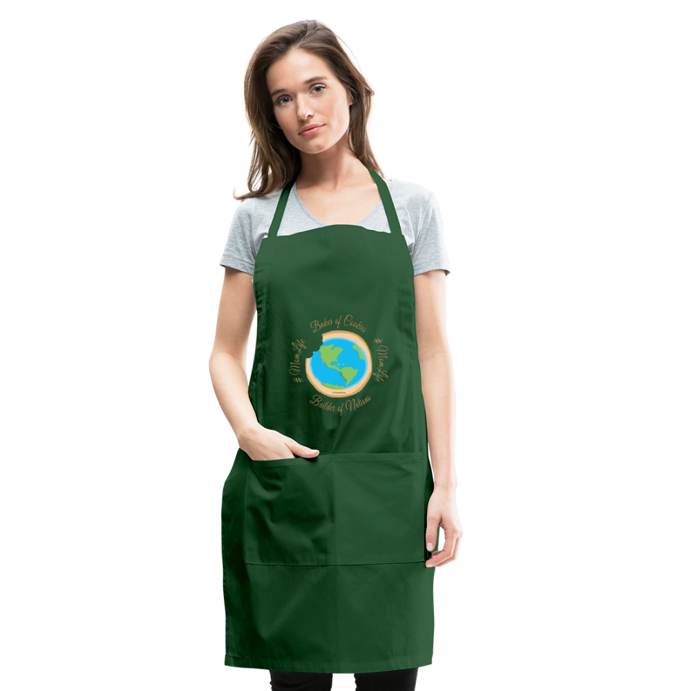 MomLife Apron - forest green