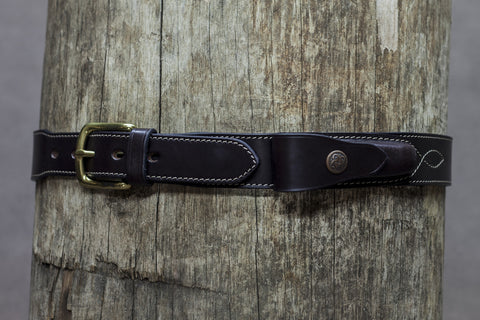 Leather Knife Pouch Belt- Clip Pouch