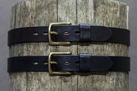 Leather Rally Belt 37mm