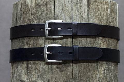 Leather Ridge Belt 35mm