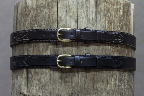 Leather Ranger Belt 30mm