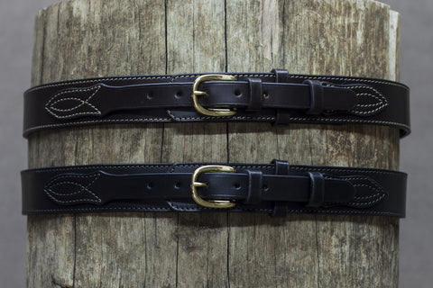 Leather Ranger Belt 37mm