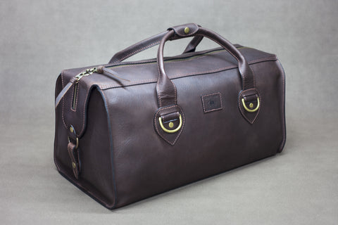 Leather Overlander Bag