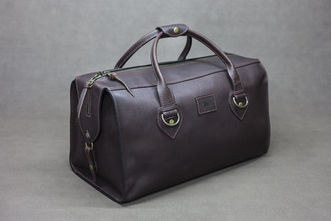 Leather Overnighter Bag