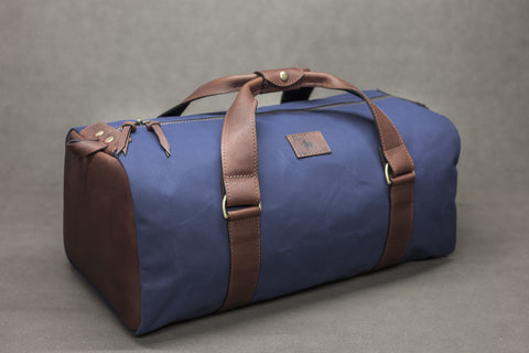 Canvas and Leather Kit Bag