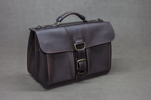 Leather Saddler Briefcase