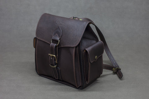 Leather Backpack 3 pocket
