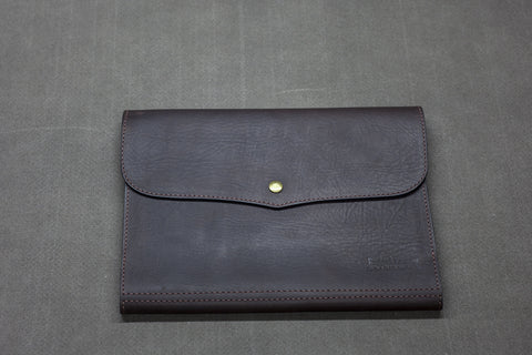 Leather A4 Bookeeper