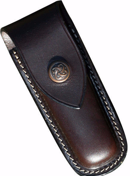Leather Swiss Army Knife Pouch Small Rugged Luxury By