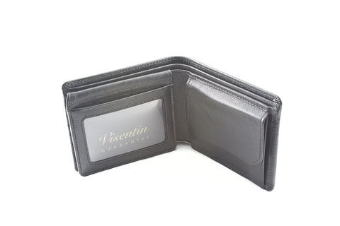 Kangaroo Leather Wallet- Credit card, coin purse & Licence