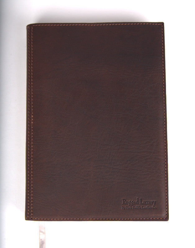 Leather A4 Diary Cover Rugged Luxury By Pack Saddle