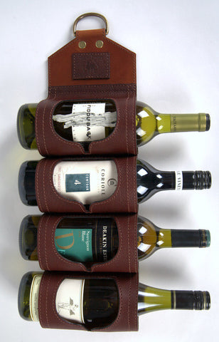 Leather Wine Sling