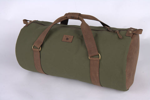 Canvas and Leather Gear Bag