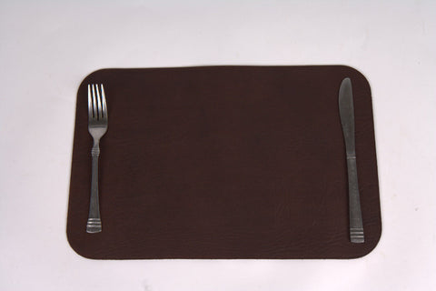 Leather Placemat Large (8 pieces)