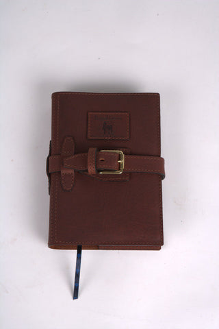 Leather A5 Diary Cover with Strap