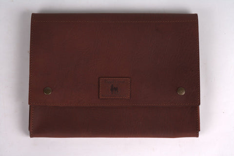 Leather Document Satchel