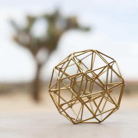 Geometric Brass Spheres