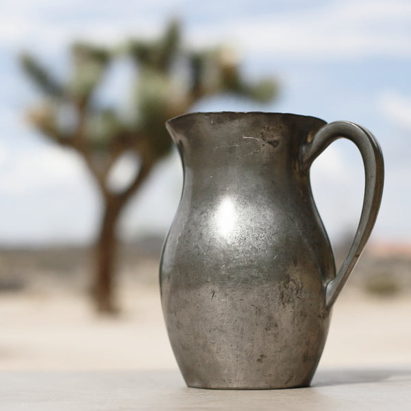 Vintage Pewter Pitcher