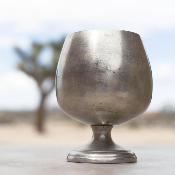 Vintage Pewter Vessel No. 1