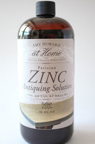 Amy Howard Natural Zinc Antiquing Solution