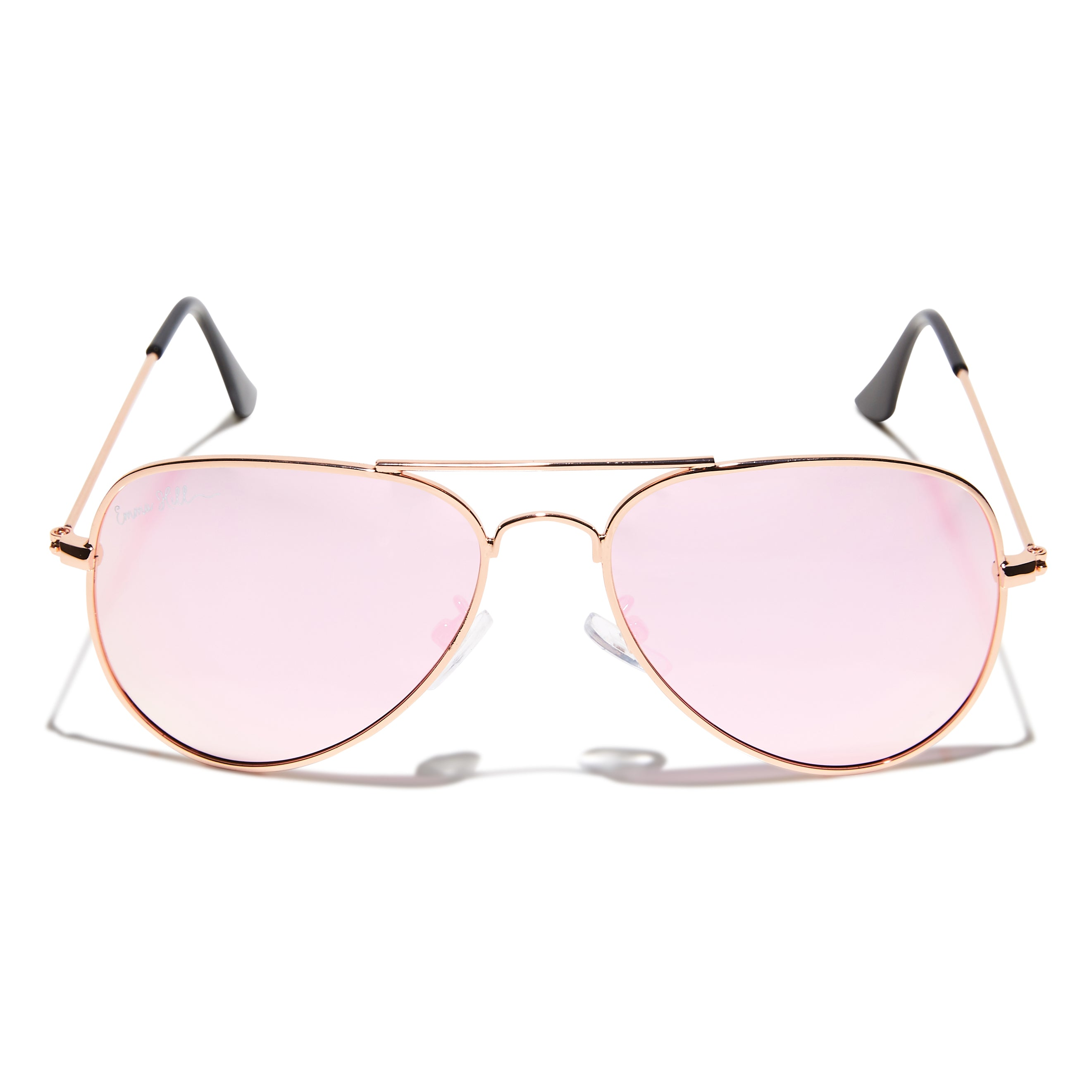Jaz Shades - Rose Gold + Pink Lens
