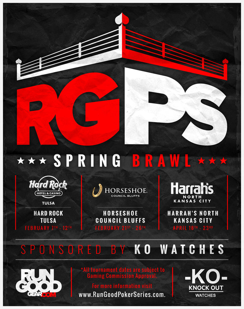 The 2017 RunGood Poker Series Spring Theme Announced